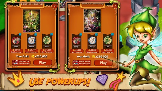 screenshot of Solitaire Quest: Elven Wonderland Story version Varies with device