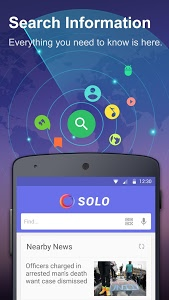 screenshot of Solo Launcher-Clean,Smooth,DIY version 2.2.8