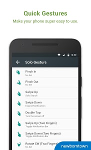 screenshot of Solo Launcher-Clean,Smooth,DIY version 2.7.1
