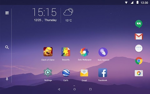 screenshot of Solo Launcher-Clean,Smooth,DIY version 2.2.2