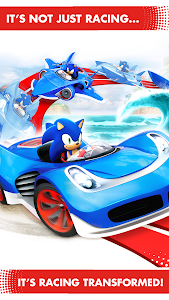 screenshot of Sonic Racing Transformed version 545632G3