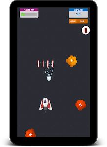 screenshot of Space Shooter version 1.2