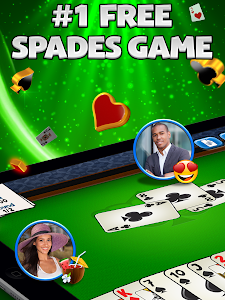 screenshot of Spades Plus version 3.8.0