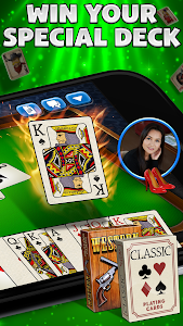 screenshot of Spades Plus version 2.24.1
