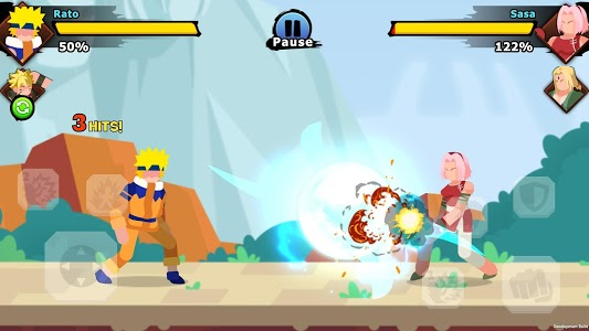 screenshot of Stick Ninja: Ultimate Legends version 1.3.4