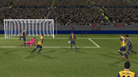 screenshot of Strategy Dream League Soccer 17 version pes