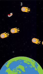 screenshot of Super Space Cow version 1.0.0
