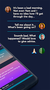 screenshot of TalkLife - Lonely, Stressed or Battling Anxiety? version 5.7.51.11
