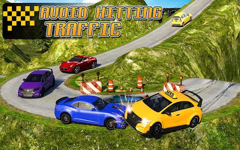 screenshot of Taxi Driver 3D : Hill Station version 3