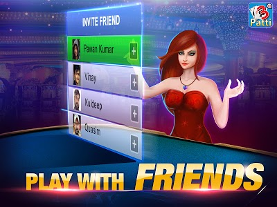 screenshot of Teen Patti by Octro version 7.55