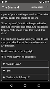screenshot of The Grim and I version 1.0.9