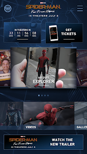 screenshot of Spider-Man: Far From Home version 2.1.1