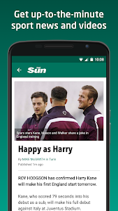 screenshot of The Sun – News, Sport & Celeb version 2.1.4