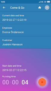 screenshot of Time2View version 1.0.10