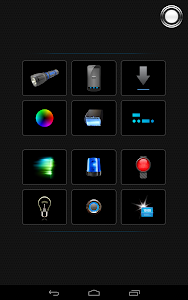 screenshot of Tiny Flashlight + LED version Varies with device