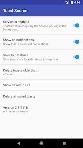 screenshot of Toast Source version 2.4.1