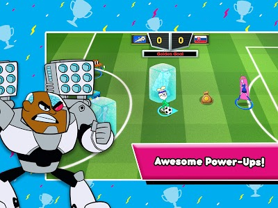 screenshot of Toon Cup - Cartoon Network's Soccer Game version 2.8.10