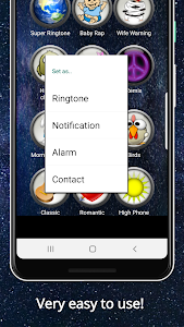 screenshot of Top Ringtones for Android™ version 8.4