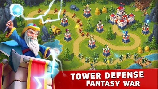 screenshot of Toy Defense Fantasy - TD Strategy Game version 2.2.5