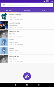screenshot of TrackID™ - Music Recognition version Varies with device