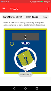screenshot of TransMi App | TransMilenio version 2.3.21