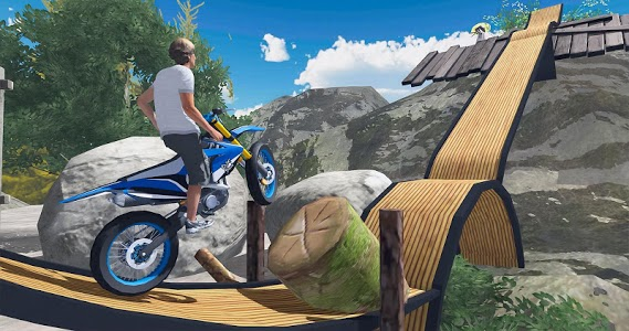 screenshot of Tricky Bike Stunts 2019 - Extreme Stunts Bike Game version 1.0