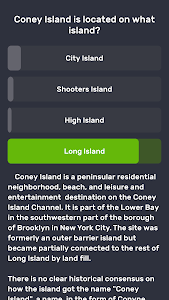 screenshot of Trivia only. Free quiz game: QuizzLand version 1.1.200