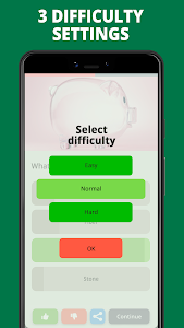 screenshot of Free Trivia Game. Questions & Answers. QuizzLand. version 1.1.735