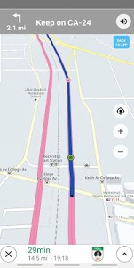 screenshot of Truck Navigation, GPS - Road Hunter, Truck Stops version Varies with device