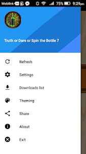 screenshot of Truth or Dare - Spin the Bottle 7 version 1.0