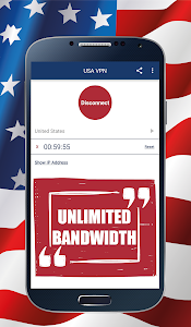 screenshot of USA VPN version 1.5.0