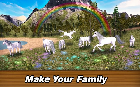screenshot of 🦄✨Unicorn Simulator: Alicorn Magic Horse Family version 1.0