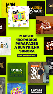 screenshot of Vagalume FM: Rádios com música sem propaganda version 2.3.52
