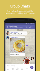 screenshot of Viber Messenger version Varies with device