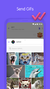 screenshot of Viber Messenger - Messages, Group Chats & Calls version 10.5.0.28