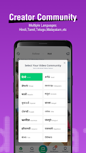 screenshot of VidStatus - Share Your Video Status version 3.4.1