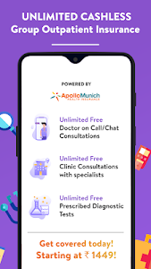 screenshot of Visit-Free Chat with a Doctor version 4.0.517