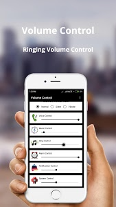 screenshot of Volume Control version 1.3