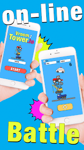 screenshot of Vroom Tower.io -real time multiplayer games version 1.0.1