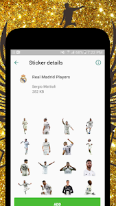 screenshot of ⚽Soccer Stickers for WhatsApp (WAStickerApps) ⚽ version 1.19