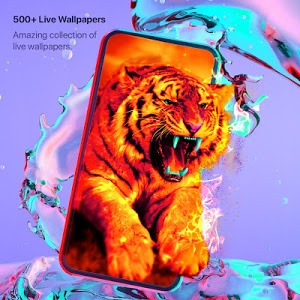 screenshot of Live Wallpapers 4k & HD Backgrounds by WAVE version 3.2.8