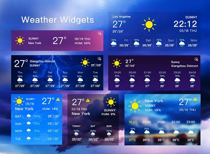 screenshot of Weather Forecast version 1.1.0