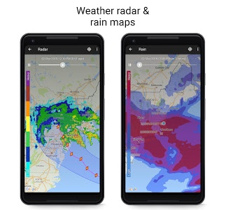 screenshot of Weather Live version Varies with device