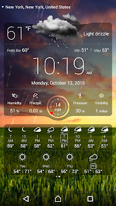 screenshot of Weather Live Free version 4.7