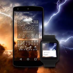 screenshot of Weather Live with Widgets Free version 4.0