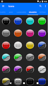 screenshot of Wicked Chrome Icon Pack ✨Free✨ version 1.9