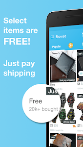 screenshot of Wish - Shopping Made Fun version 4.26.5