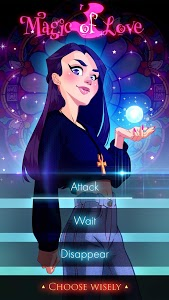 screenshot of Witch Love Story Games: Magic of Love version 2.4