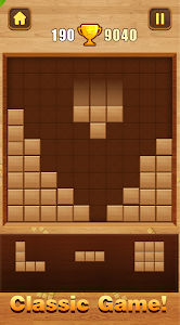 screenshot of Wood Block Puzzle version 1.0.9
