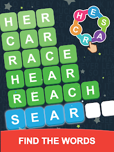 screenshot of Word Search: Unscramble words version 1.5.0